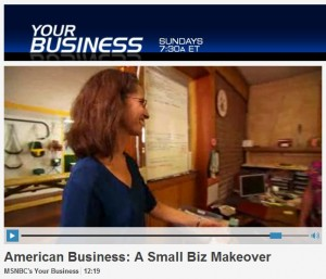 """Studio 88 founder part of MSNBC """"Your Business"""" makeover"""